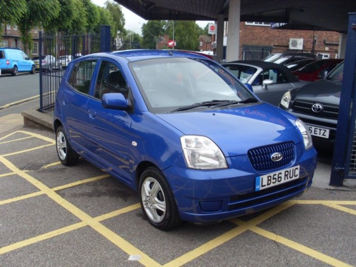 Kia Picanto 1.1 LX 5dr Hatchback Petrol Electric Blue