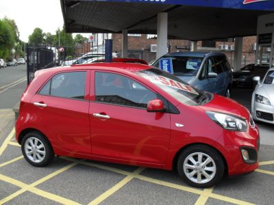 Kia Picanto 1.0 VR7 5dr Hatchback Petrol Red MetKia Picanto 1.0 VR7 5dr Hatchback Petrol Red Met at Motors of Brighowgate Grimsby