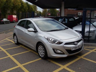 Hyundai i30 1.4 Classic 5dr Hatchback Petrol Metallic SilverHyundai i30 1.4 Classic 5dr Hatchback Petrol Metallic Silver at Motors of Brighowgate Grimsby