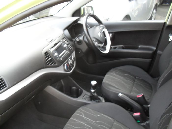 Kia Picanto 1.0 2 5dr Hatchback Petrol Green